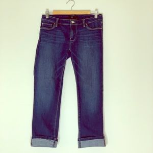 Whbm cropped jeans